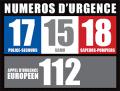 numeros urgence